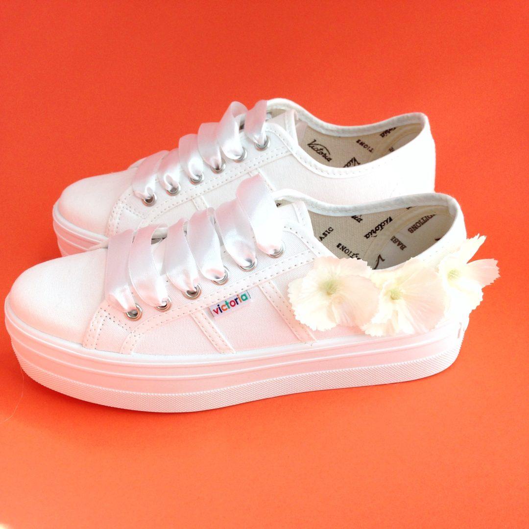 Zapatillas de novia Path flores_01