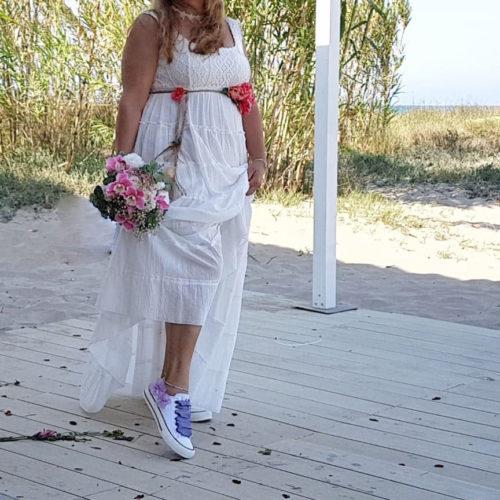 Zapatillas de novia estrella