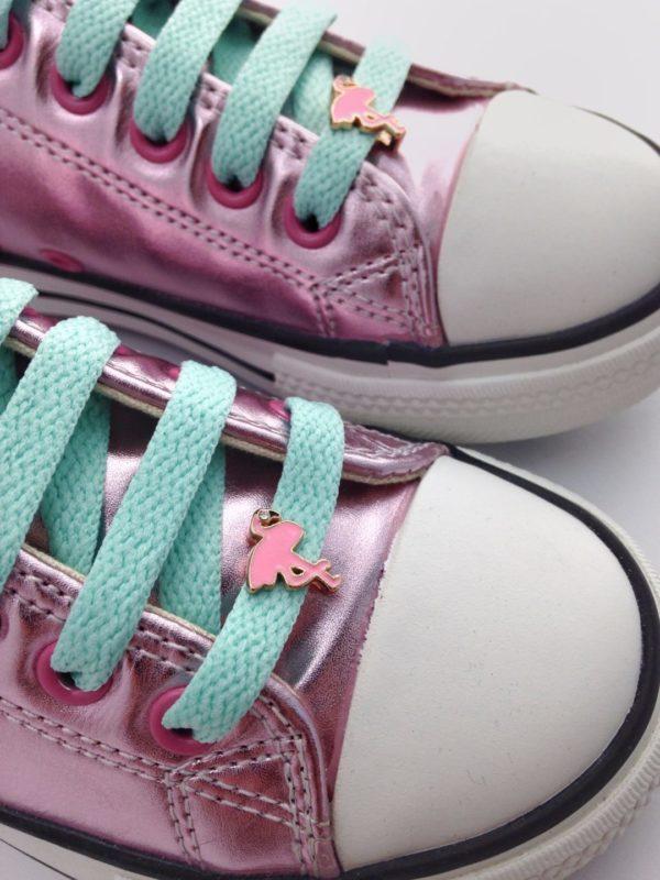 cordones zapatillas flamenco