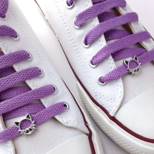 cordones zapatillas gato