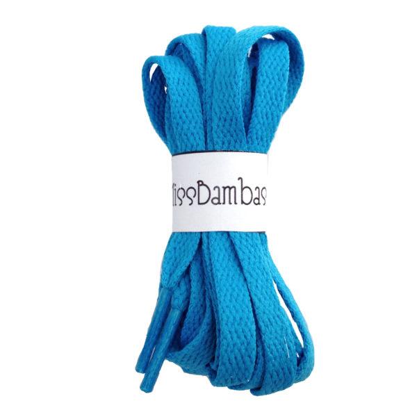 Cordones para zapatillas azules