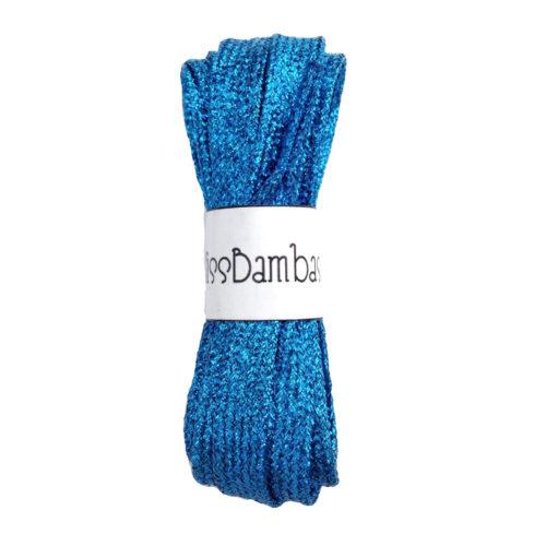 Cordones para zapatillas fantasía azules