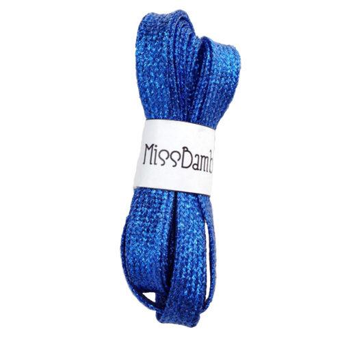 Cordones para zapatillas fantasía azulones
