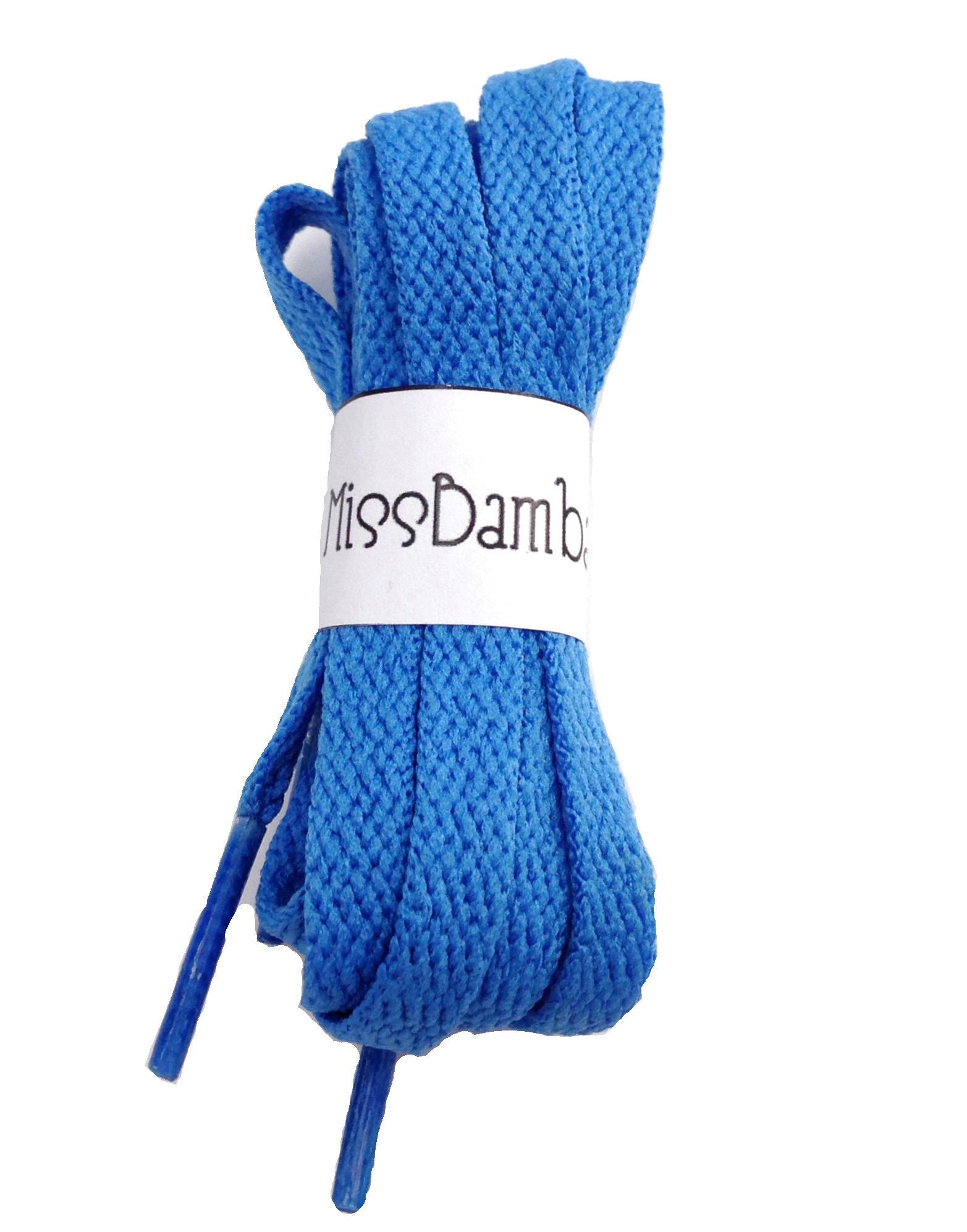 Cordones para zapatillas azulones