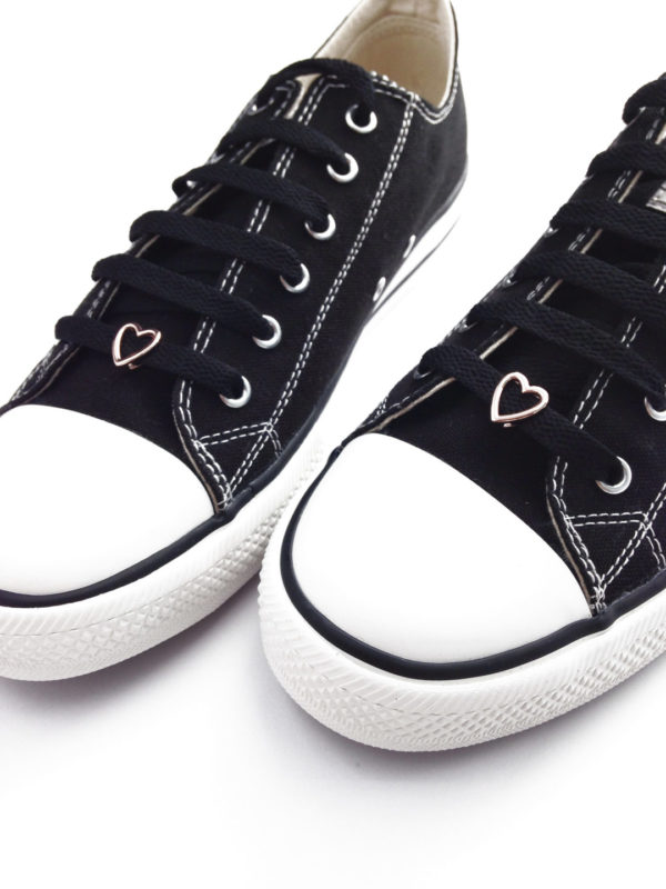 Cordones zapatillas Corazón oro
