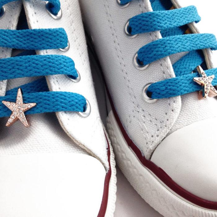 cordones zapatillas estrella