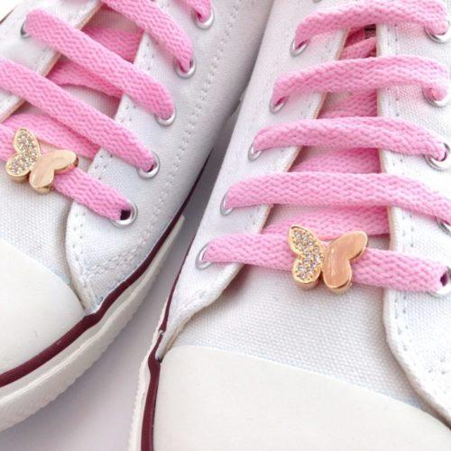 cordones zapatillas mariposa