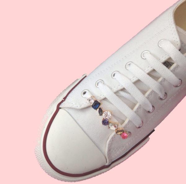 Adornos para cordones de zapatillas