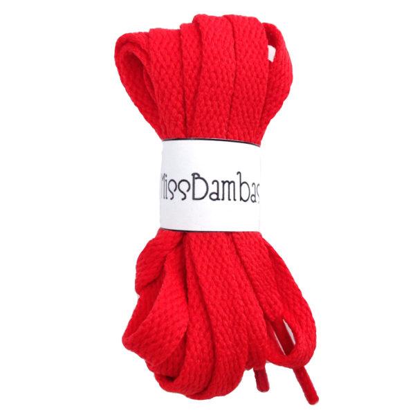 Cordones para zapatillas rojos