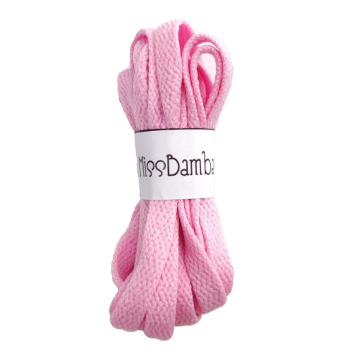 Cordones para zapatillas rosas