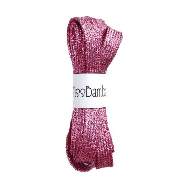 Cordones para zapatillas fantasía rosas