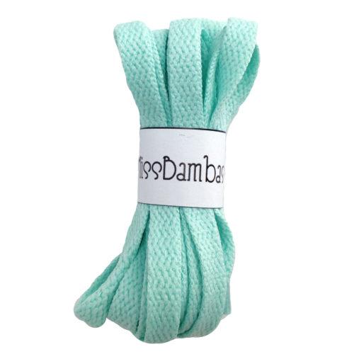 Cordones para zapatillas verde agua