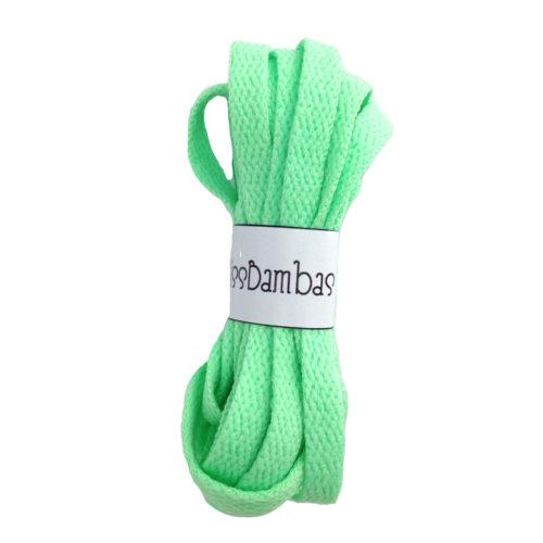 Cordones para zapatillas verde flúor