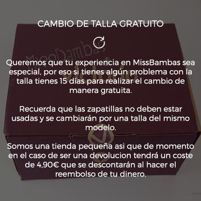 CAMBIO DE TALLA