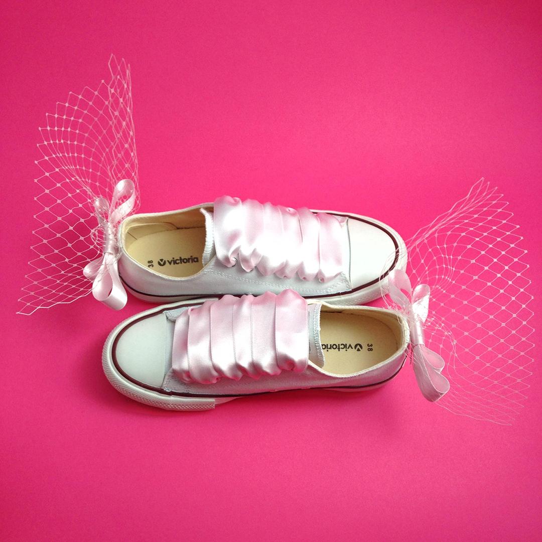 zapatillas de novia Sofia