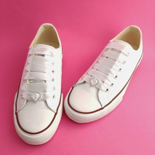 zapatillas de novia Minimal