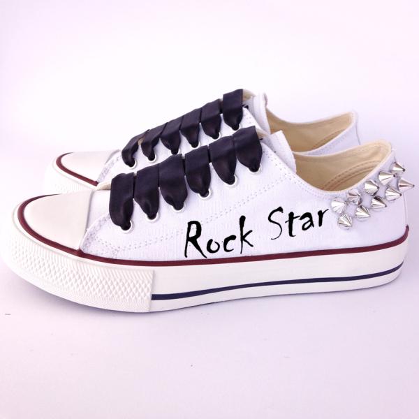 Personaliza tus zapatillas Rock star