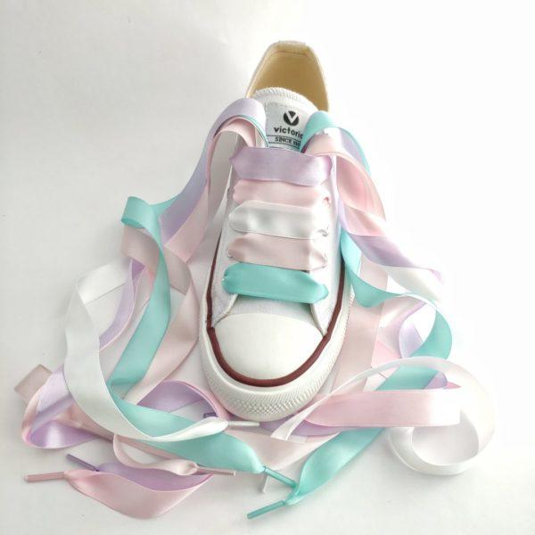 Cordones para decorar zapatillas