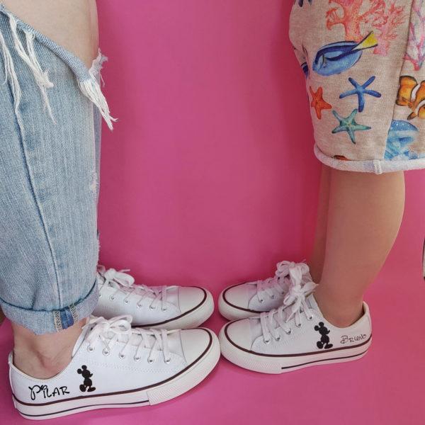 Zapatillas Personalizadas Madre e Hijo