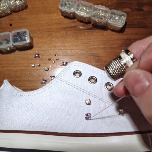 Zapatillas mujer Mix Cristales