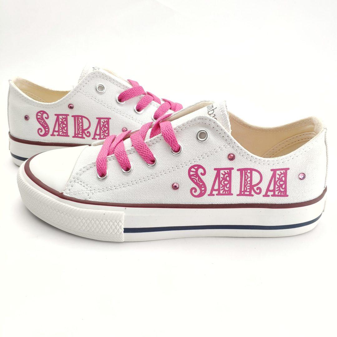 zapatillas personalizadas nombre