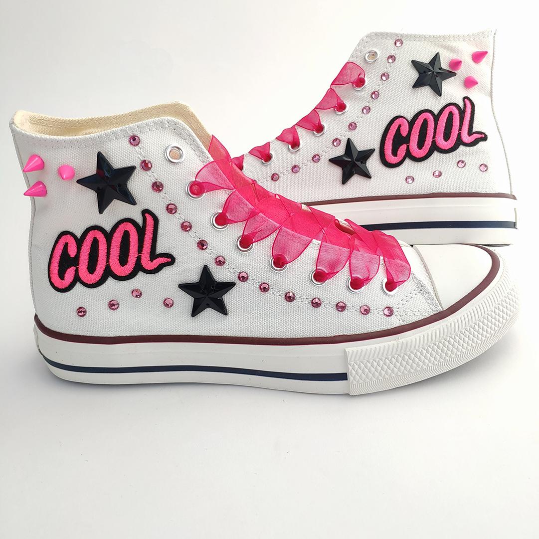 Zapatillas mujer cool tachuelas